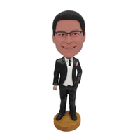 Wedding Bobbleheads Groomsmen Gift