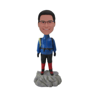 Mountaineering Custom Bobbleheads