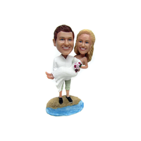 Beach Wedding Bobbleheads