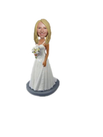 Personalized Custom Bride Bobblehead