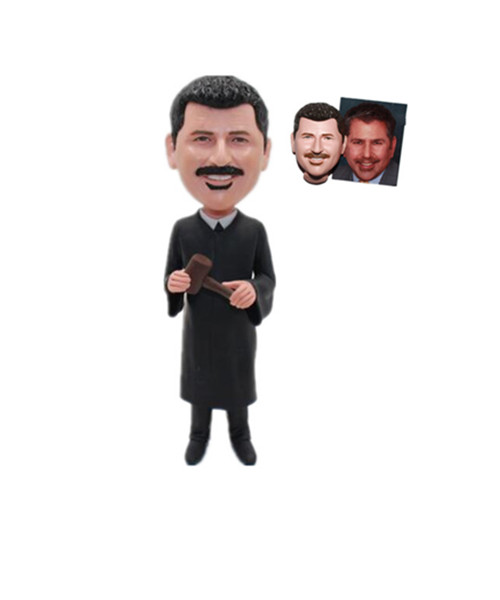 Male Judge Bobblehead