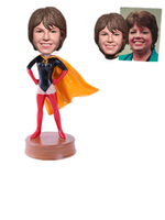 Female Superwoman Custom Bobblehead