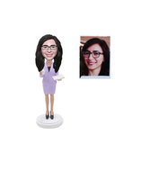 Custom Secretary Bobble Head