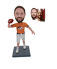 NFL Broncos Football Bobble Heads Handmade