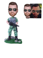 Military Custom Bobble Head