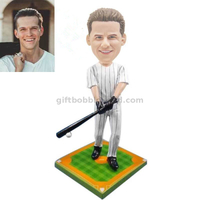 Baseball Bobblehead Player Waving Bat