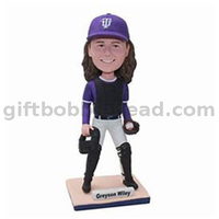 Baseball Catcher Player Custom Bobblehead