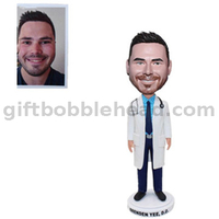 Best Handmade Gift for Male Doctor Custom Bobble Head Gift Factory