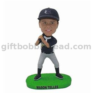 Personalized Baseball Bobble Head Custom
