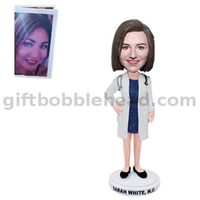 Unique Valentine Gift Handmade Bobblehead Custom Form Photos