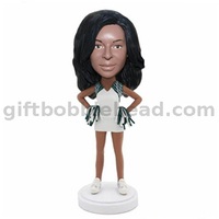 Sport Bobblehead Cheerleader Bobble Head Custom From Photos