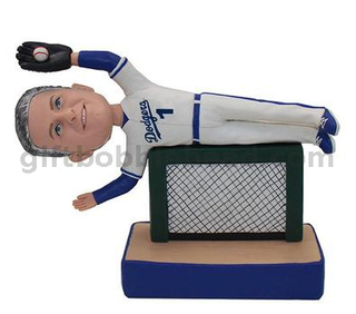 Baseball Catcher Custom Bobblehead Factory